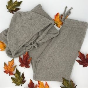 Sweaters - Cozy 2 Piece Teddy Set in Gray
